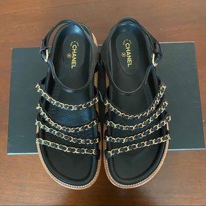 CHANNEL flat sandals